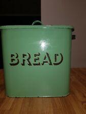 More details for large vintage enamel bread bin.