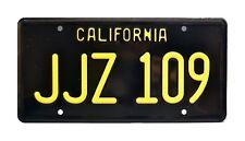 Bullitt | Steve McQueen's 1968 Mustang | JJZ 109 | STAMPED Prop License Plate