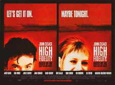 High Fidelity Movie Poster 11x17 C John Cusack Todd Louiso Jack Black Iben