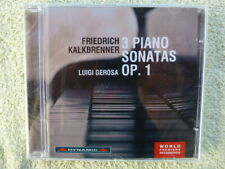 Friedrich Kalkbrenner: 3 Piano Sonatas, Op. 1 (CD, Sep-2013, Dynamic )  NEW