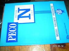 Catalogue PECO N en anglais