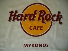 HRC HARD ROCK CAFE Mykonos Greece Classic White Tee Shirt size M nuovo new NWT