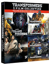 TRANSFORMERS - 5 MOVIE COLLECTION (5 BLU-RAY) Mark Wahlberg