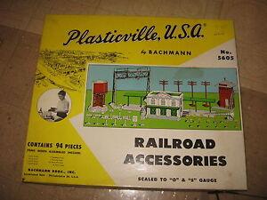 PLASTICVILLE U.S.A RAILROAD ACCESSORIES #5605 MASTER SET