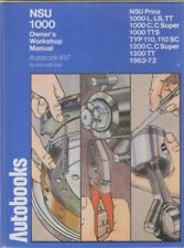 NSU 1000TT & 1200TT ( 1963 - 1972 ) OWNERS WORKSHOP MANUAL * VGC *
