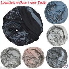 Markenlose Damen-Schlauchschals aus Baumwollmischung