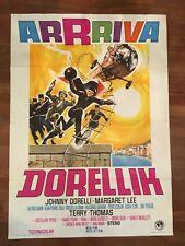 manifesto,2F,B ARRIVA DORELLIK 1967 STENO,Johnny Dorelli ,Margaret Lee Diabolik