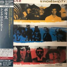 Synchronicity by The Police (SACD-SHM. jp mini LP),2010, UIGY-9027 Japan