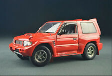 1:18 Autoart Pajero EVO V55 Die Cast Model Red RARE