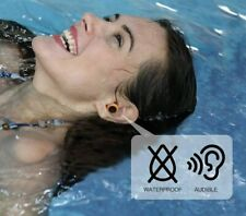Audible Swimming Earplugs for Swimming, Surfing, Snorkeling and Water Sports
