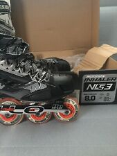 Mission Inhaler Nls3 Senior Rh Hockey Roller Skate Sz. 8.0