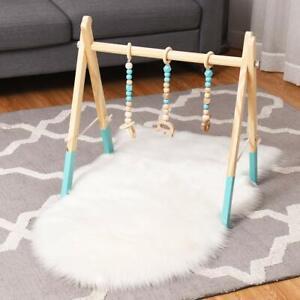 Spieltrapez Babyspielgerät Holzspielzeug Baby Gym Spielbogen Aktivitätszentrum