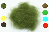 8packs Fly Tying Dub Rabbit Dubbing Soft Hair Fiber Nymph Wet Fly Tying Material