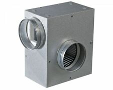 "315mm (12"") VENTS KSA ACOUSTIC BOX  EXTRACTOR FAN for Hydroponics, Flexible Duct"