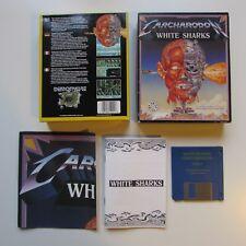 WHITE SHARKS CARCHARODON Commodore Amiga Demonware big box