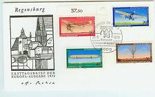 BRD FDC Ersttagsbrief 1978 Luftfahrt  Mi.Nr.964-67