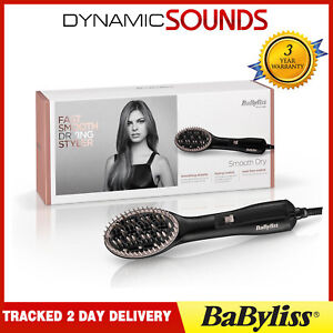 BaByliss 2772U Smooth Dry Airstyler 600W With 2 Speed & 2 Temperature Settings
