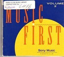 (CX391) Music First Vol. 2, 20 tracks various artists - 1994 DJ CD