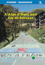 L' Alpe-d'Huez and Col de Sarenne - FitViewer Virtual Video Indoor Cycling DVD