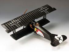 WWI Fokker DVII with Leut. Josef Jacobs Jasta Squadron #7 King & Country #FW112