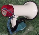 MEGAPHONE BULLHORN with MICROPHONE and SIREN mega phone bull horn mic BIG