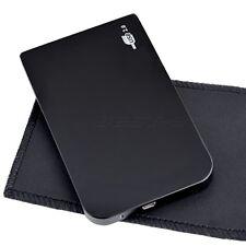 2,5 polli USB 2.0 HDD IDE Box Case Scatola Esterna Hard Disk Disco Rigido Nero