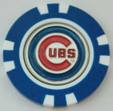 MLB Chicago Cubs Magnetic Poker Chip removable Golf Ball Marker