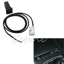 Hot For VW Jetta MK5 Scirocco Golf GTI MK5 MK6 RNS510 RCD510 AUX In Socket&Cable