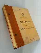 Vtg RAF Manual Flying Vol 2 Aircraft Op 1955 Wing Cdr Tom Neil Battle of Britain