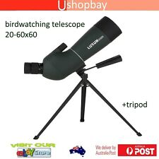 Monocular Zoom Spotting Scope 20-60x60 Birdwatching Telescope + Tripod