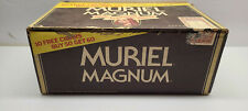 "VTG Muriel Magnum Sixty Holder Cigar Box Indroductory Box Offer, ""Box Is Empty"""