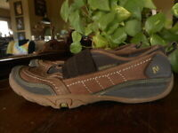 Merrell Womans 7.5 Mimosa Band Cocoa Brown Slip on Shoes Performance Foorwear