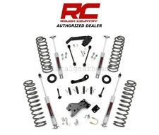 """2007-2018 Jeep 4 Dr JK Wrangler 4WD 4"""" Rough Country Suspension Lift Kit [681S]"""