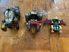 Vintage G1 Transformers Dinobots Figures Lot Slag Sludge Cutthroat Hasbro
