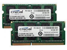 16GB 8GBx2 RAM MEMORY kit DDR3 PC3-12800,1600MHz for 2012 Apple Macbook Pro's