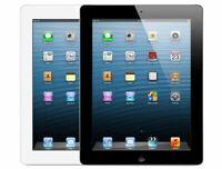Apple iPad 4th Gen. 16GB, Wi-Fi, 9.7in - Black/White All Grade 24-hour Delivery