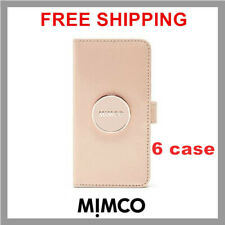 MIMCO Enamour iPhone 6 6s Pancake patent leather Flip case wallet cover