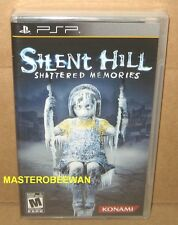Silent Hill: Shattered Memories Black Label New Sealed (Sony PSP, 2010)