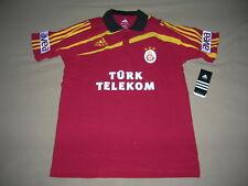 Galatasaray Fussball Button Top Fußball Türkei Fußball Polo Shirt NEU S