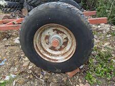 15 R 22.5 Neumático 8 Perno Borde Para Jardín Sólo para Uso Contiene Aire