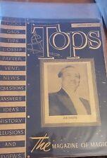 Vintage Abbott's Tops The Magazine Of Magic Joe Ovette Issue 1944