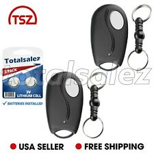 2 For Linear Megacode ACT-31B ACP00879 Mini Key Chain Garage Door Remote Control