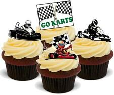 Karting Mix Stand Up Premium Card Cake Toppers