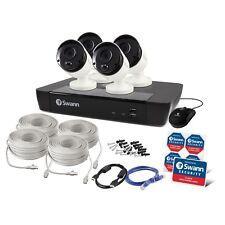 Swann NVR8-8580 8CH 4K 2TB 4 x NHD-865MSB 5MP POE Cameras SWNVK-875804 $1299