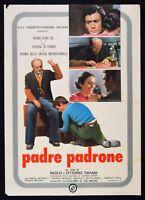Werbeplakat S11 Vater Bibliothek Paolo E Vittorio Taviani Gavino Ledda Abdulla