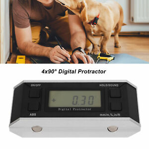 0-360 Degree LCD Digital Protractor Inclinometer Angle Level Finder Angle Gauge