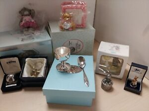 Various Ornamental Baby / Christening Gifts Cherished Teddies Fairy Spoon  D36