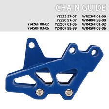 Motorcycle Chain Slider Guide Protector ABS Plastics For Suzuki RM125 250 RMZ250 450 RMX450Z DRZ250 400 400E 400S 400SM Yamaha WR250F 400F 426F 450F YZ125 250 250F 400F 426F 450F Yellow