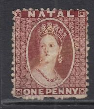 NATAL SG20 THE 1863-5 QV 1d BROWN-RED UNUSED CAT £190