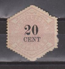 TG6 Telegram 6 MLH ongebruikt NVPH Nederland Netherlands 1877-1903